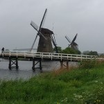 Kinderdijk - skanzen vetrnych mlynu