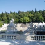 vodni zahrady v Nimes