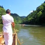 Plavba na pltich po Dunajci