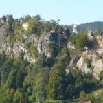 Mala skala a vyhlidka Zahradka