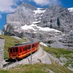zubacka na Jungfrau