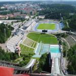 sportovni areal v Lahti
