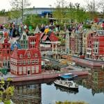 Legoland - město Amsterdam